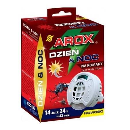 Arox Elektrofumigator + wkład na komary i inne owady latające dzień i noc