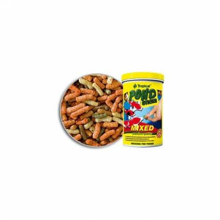 TROPICAL 90G POND STICKS MIXED POKARM DLA RYBEK