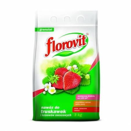 Florovit 3kg Nawóz do truskawek poziomek oraz krzewów owocowych