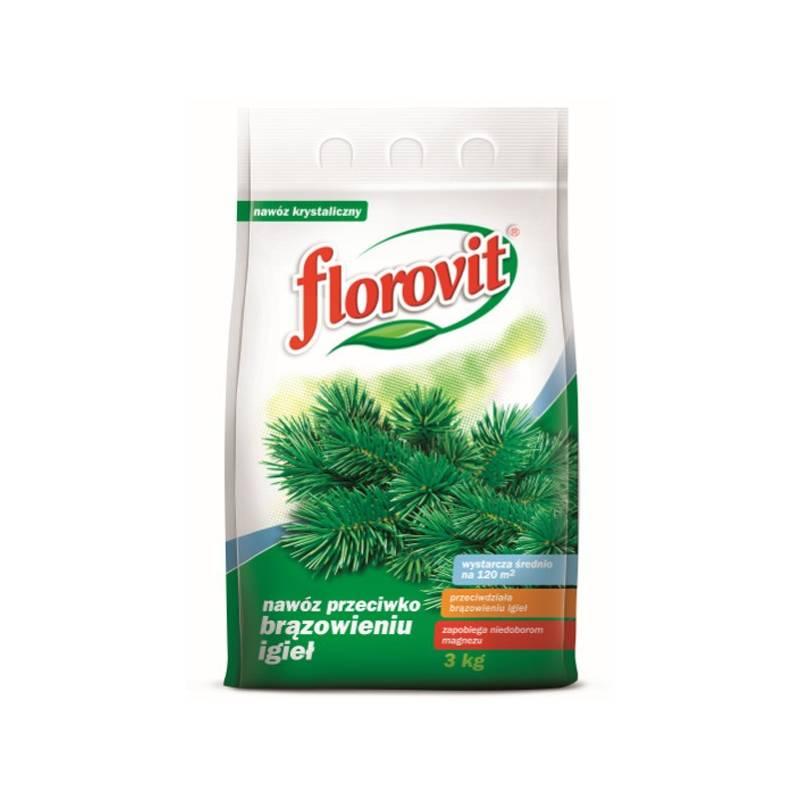Florovit 3kg Magnezowy nawóz ogrodniczy przeciwko brązowieniu igieł