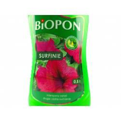 Biopon 0,5l Nawóz do surfinii efektowne kaskadowe balkony zwiększa ilość pąków