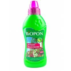 Biopon 0,5l Nawóz do roślin balkonowych i tarasowych surfinii pelargonii petunii werbeny intensywny wzrost piękne kwiaty