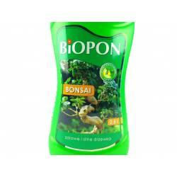 Biopon 0,5 l Nawóz do bonsai zdrowe i silne drzewka wsparcie systemu korzeniowego