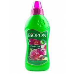 Biopon 0,5l Nawóz do wszystkich odmian storczyków wielokrotne kwitnienie intensywne barwy