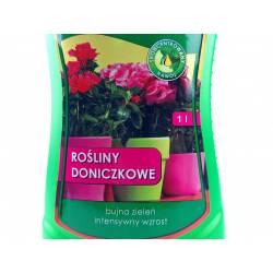 Biopon 1 l Nawóz do roślin doniczkowych piękne kwiaty na parapecie