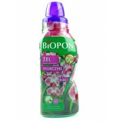 Biopon 250 ml Żel nawóz mineralny do storczyków intensywne długie kwitnienie