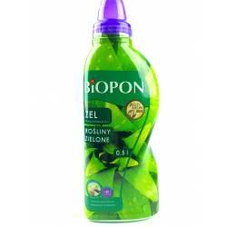 Biopon 0,5l Żel nawóz mineralny do roślin zielonych innowacyjna formuła wydajny koncentrat
