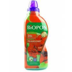 Biopon 0,5l Żel nawóz mineralny do pelargonii innowacyjna formuła