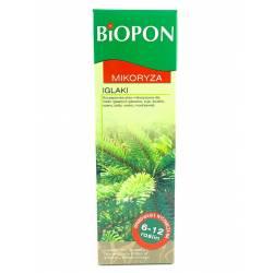 Biopon 250 ml Mikoryza do iglaków szczepionka dla roślin grzybnia do korzeni uodparnia na choroby chroni