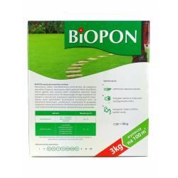 Biopon 3 kg Nawóz do trawnika z mchem anty mech żelazo trawnik bez mchu