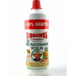 Ekodarpol 1L+20% Gratis Biohumus Extra do ratowania regeneracji roślin wzmacnia kwiaty SOS EKO