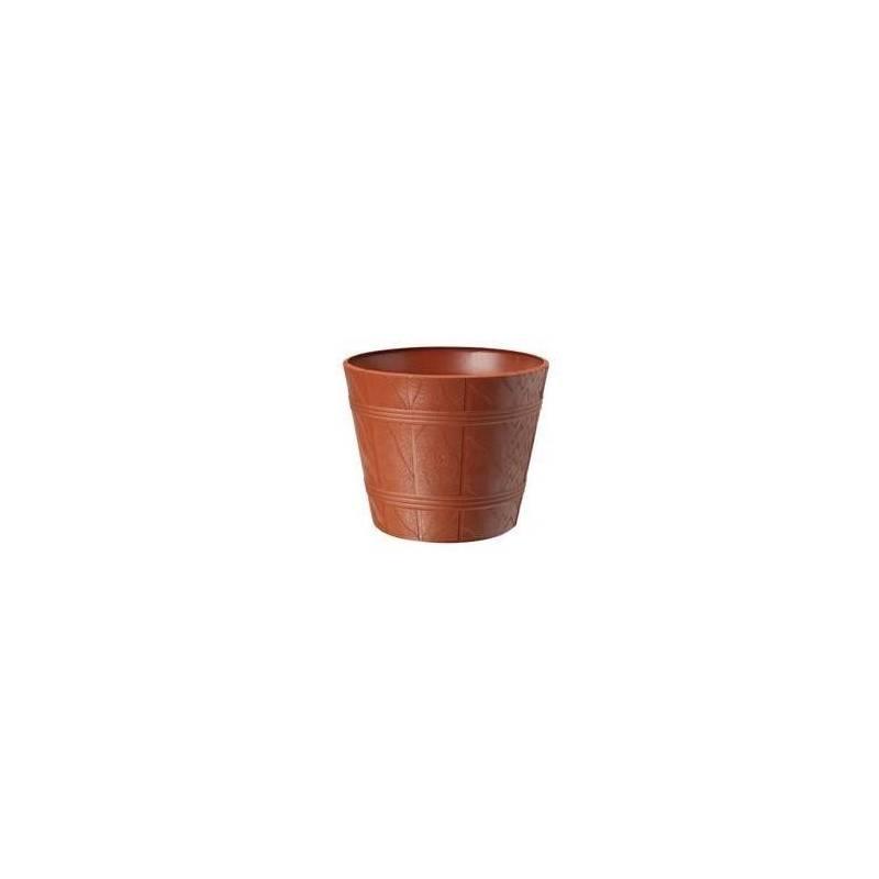 FORM Doniczka osłonka drewnopodobna 0 Terakota Aloes Anturium
