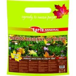 Forte Mineral 5 kg Nawóz jesienny do trawy Bez azotu Zasilanie trawnika na zimę