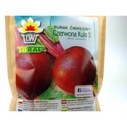 Toraf 100g Burak ćwikłowy Czerwona kula 2 Nasiona warzyw Duże opakowanie przechowywanie przetwory