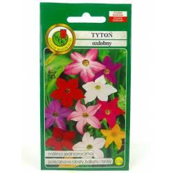 PNOS 0,5g Tytoń Ozdobny Mieszany Nasiona kwiatów Roślina jednoroczna Silnie pachnące kwiaty Kwiat cięty Rabaty