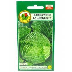 PNOS 2g Kapusta Włoska Langedijska Nasiona warzyw Odmiana późna Delikatny smak Długie przechowywanie