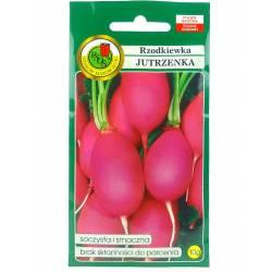 PNOS 10g Rzodkiewka Jutrzenka Różowa Nasiona warzyw Delikatna Bardzo smaczna Odporna na parcenie