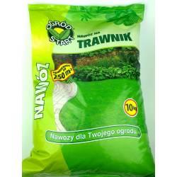 Ampol 10 kg nawóz do trawników wieloskładnikowy granulowany nieorganiczny gęsta zielona darń