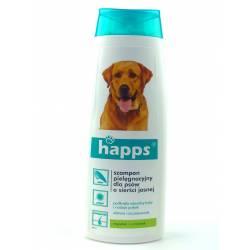 Happs 200ml Szampon pielęgnacyjny dla psów o sierści jasnej nadaje połysk