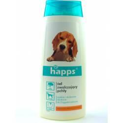Happs 150ml Żel przeciw pchłom dla psów czysta i błyszcząca sierść błyskawiczne działanie