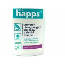 Happs 200ml Szampon pielęgnacyjny dla psów o sierści ciemnej pielęgnuje odżywia