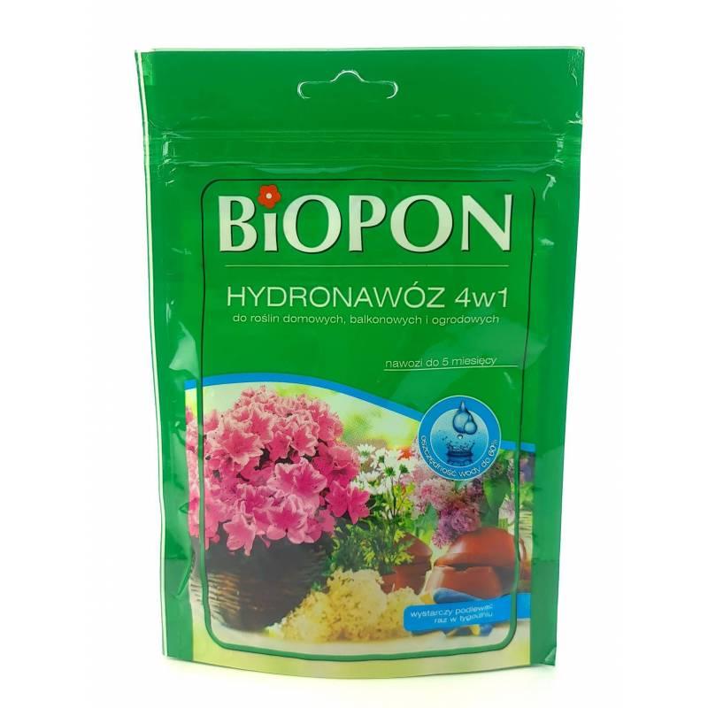 Biopon 100 g Hydronawóz 4w1 do roślin domowych balkonowych i ogrodowych