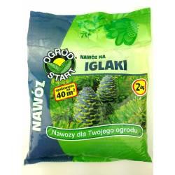 Ampol 2 kg Nawóz do iglaków tui zakwaszający granulowany zbilansowany skład soczysta zieleń