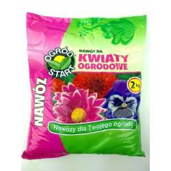 Ampol 2 kg Nawóz do kwiatów ogrodowych niska zawartość chlorków piękne wybarwienie kwiatów
