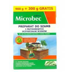 Microbec 0,9kg + 300g GRATIS Preparat do szamb oczyszczalni odświeża zapach eukaliptus