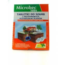 Microbec 16szt. Preparat tabletki do szamb i oczyszczalni ścieków zapach cytrynowy