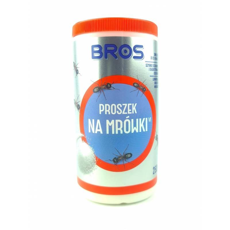 Bros 250g Proszek na mrówki zwalcza do 25 gniazd szybko działa