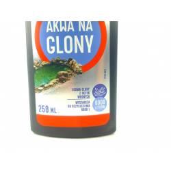 Bros 250ml Akwa Płyn do zwalczania glonów w oczkach akwarium stawie bezpieczny dla ryb na glony