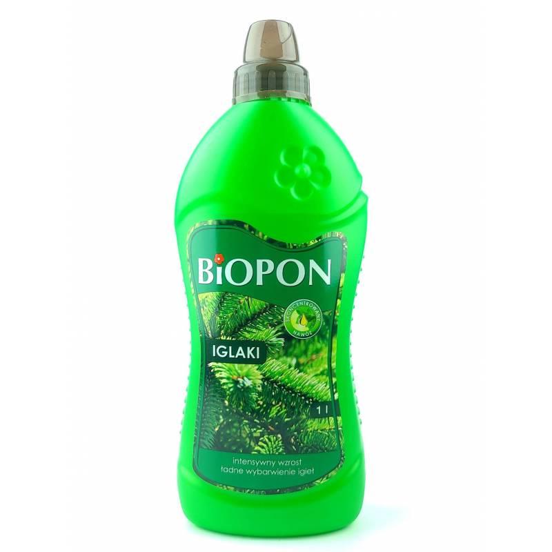 Biopon 1 l Nawóz do iglaków intensywny wzrost ładne wybarwienie igieł