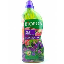 Biopon 1 l Żel nawóz mineralny uniwersalny wszystkie rośliny domowe i balkonowe