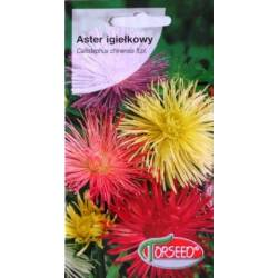 Torseed 1g Aster Igiełkowy Mieszanka Nasiona Kwiatów