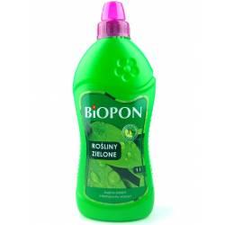 Biopon 1 l Nawóz do roślin zielonych bujna zieleń intensywny wzrost