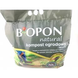 Biopon 10l Kompost ogrodowy Revita bogaty w próchnicę odżywia glebę przywraca składniki pokarmowe