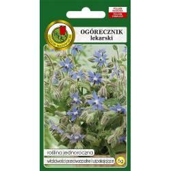 PNOS 5g Ogórecznik Lekarski Nasiona ziół Roślina jednoroczna Działanie przeciwzapalne