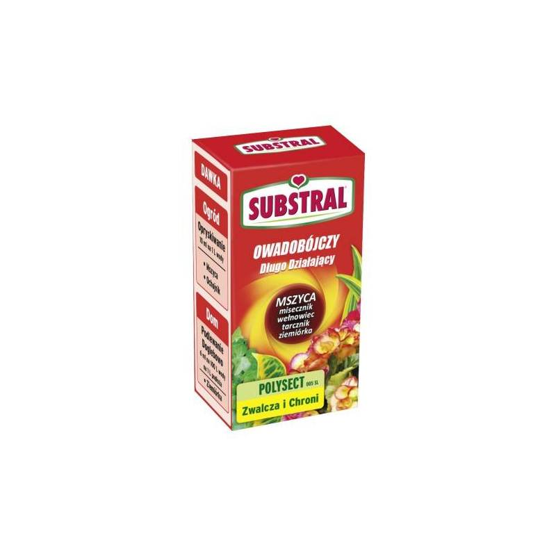 Substral 25ml Polysect 005SL Środek owadobójczy Rośliny ozdobne Ziemiórka tarcznik