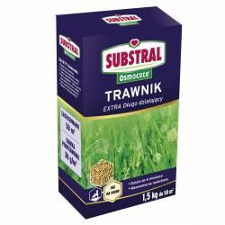 Substral 1,5 kg Nawóz Osmocote Extra długo działajacy do trawy Zielona darń Gęsty trawnik