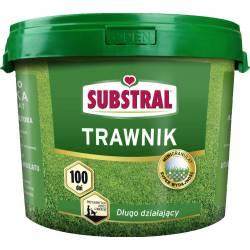 Substral 5 kg 100 dni Nawóz do trawnika Długo działający Szybki wzrost Zielona darń