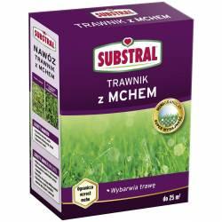 Substral 1 kg Nawóz do trawnika z mchem Długo działa 100 dni Żelazo Odżywia Zwalcza mech