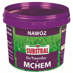 Substral 10 kg Nawóz 100 dni do trawnika z mchem Przedłużone działanie Gęsta darń