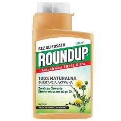 Roundup 280ml AntyChwast Total Ultra Preparat chwastobójczy Części nadziemne roślin