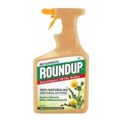 Roundup 1l AntyChwast Total Ultra Środek chwastobójczy Substral Części zielone roślin