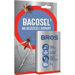 Bros Bagosel 30ml Płyn do oprysku od kleszczy komarów Zabezpiecza do 60m2 Grill Ogród Działka