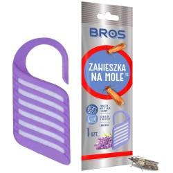 Bros Zawieszka na mole o zapachu lawendowym ochrona przed molami odzieżowymi szafa szuflada