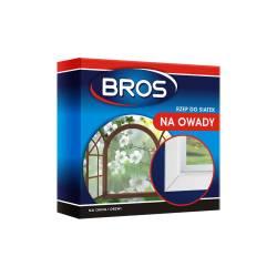 BROS 5,6m Rzep do siatek przeciw owadom Biały Łatwy montaż Do moskitiery