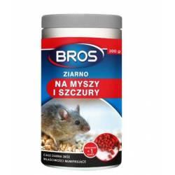 Bros 300g Ziarno na myszy i szczury całe ziarna zbóż imitujący naturalny pokarm