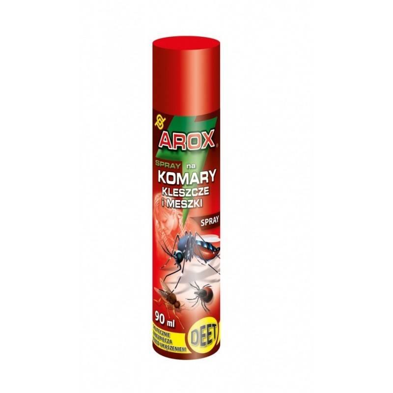 Arox 90ml Spray na komary kleszcze i meszki DEET